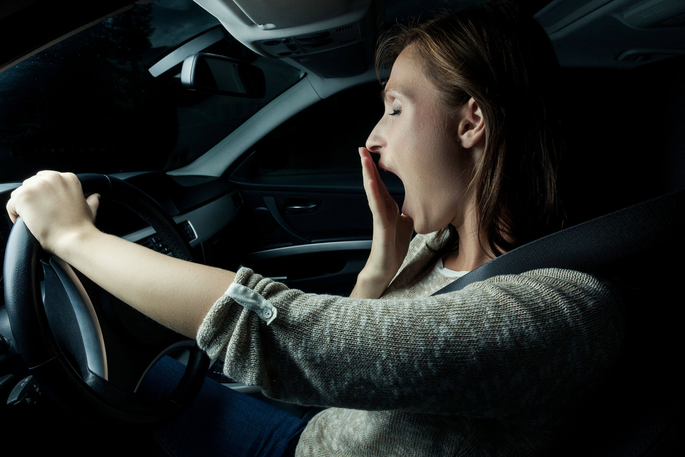Sleepyhead: the dangers of driving when tired over Christmas