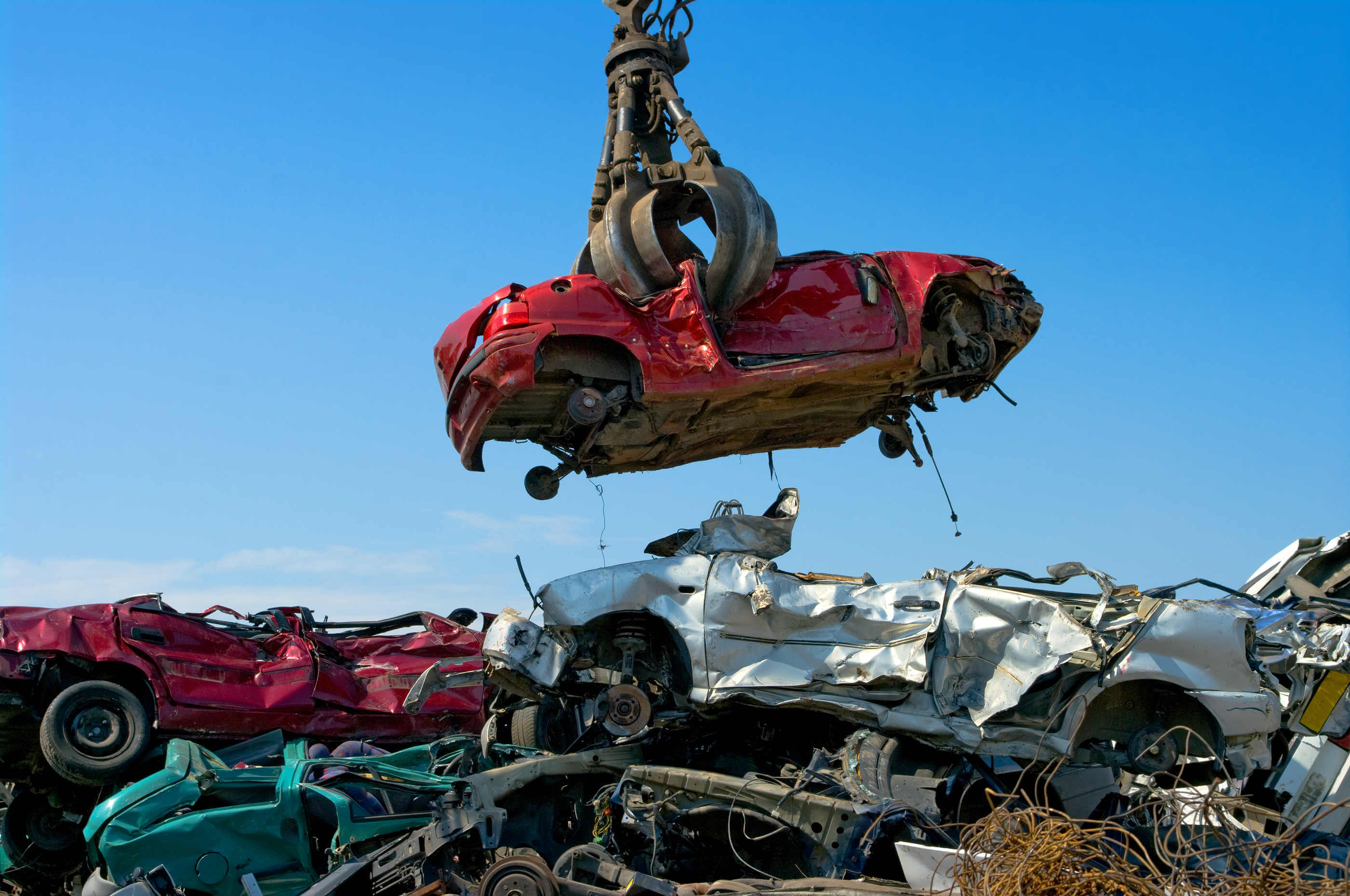 How to scrap a car and how much money it might be worth