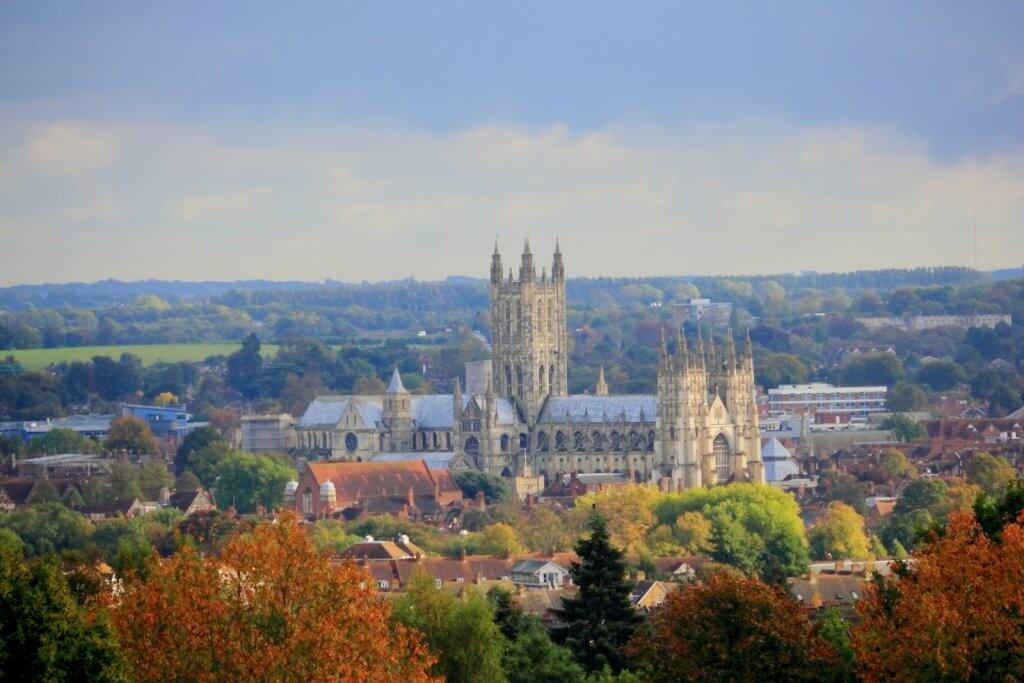 Canterbury Cathedral Autumn Road Trip Destination