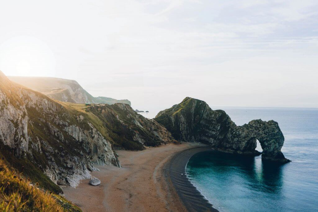 Durdle Door Autumn Road Trip Destination