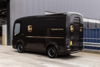 UPS Electric Van