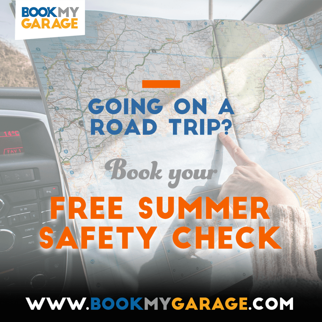 Book a free summer safety check for your car