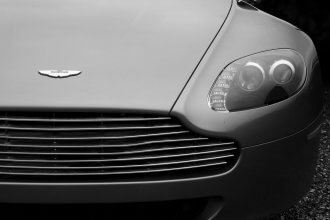 an iconic car, the Aston Martin