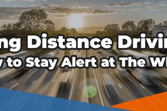 an image depicting long distance driving