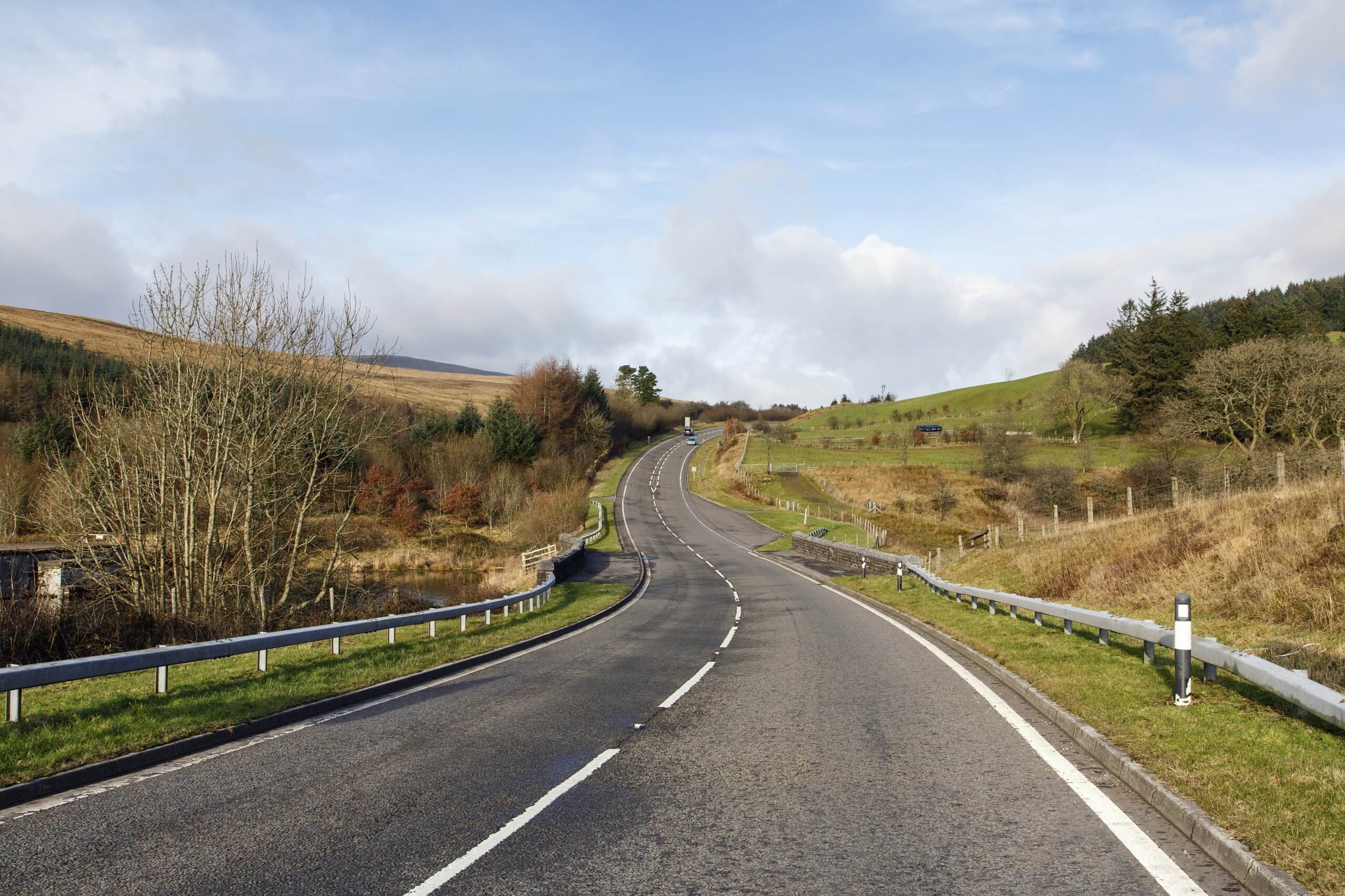 A470 in Wales, a beautiful driving route to include on your UK 'staycation'